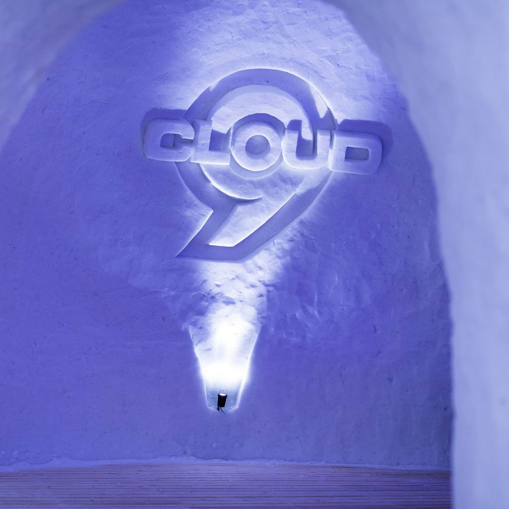 Cloud 9 Snow Logo Nordkette