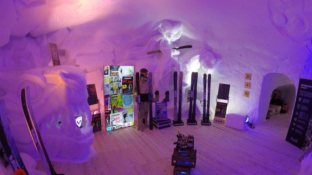 Snow Branding Ski Event Nordkette